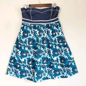 3/$30 Urban Outfitters Floral Strapless Dress 107